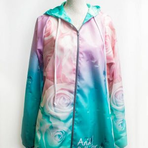 Our Authentic soft roses raincoat, pairs nicely with all our beautiful items and adds a touch of colour to your wardrobe. Visit our other product categories!