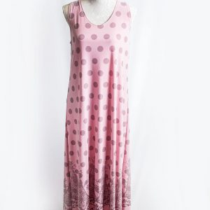 Authentic lace down polka dress