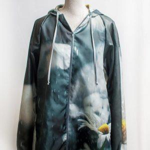 Authentic daisy raincoat