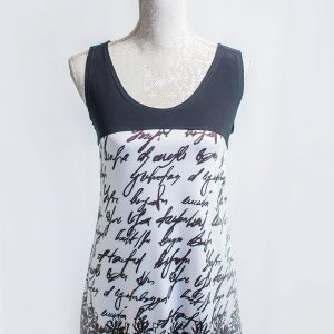 Authentic Beautiful writing top