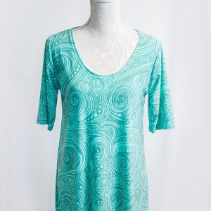 Authentic Organic pattern top