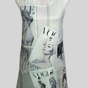 Authentic Vogue stamp top