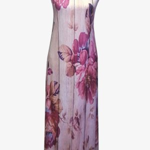 Authentic Pink rose dress