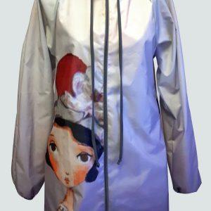 Lizzy Poppe raincoat