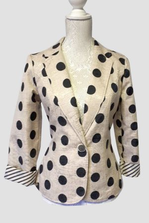 Authentic Polka dot jacket