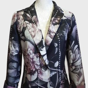 Authentic Peony rose jacket