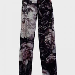 Authentic Peony rose trousers