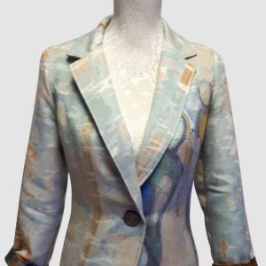 Authentic Abstract art jacket