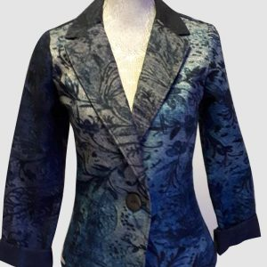 Authentic Floral gradient jacket