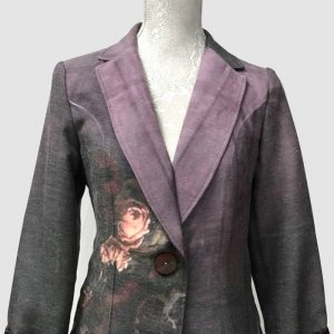 Authentic Pomegranate rose jacket