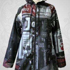 New York raincoat