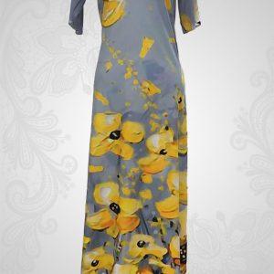 Yellow Myra Dress