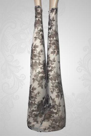 Grey Flowers Skins